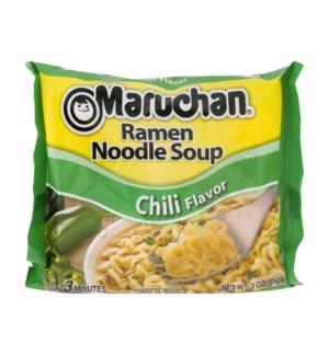 MARUCHAN #00216 CHILI RAMEN NOODLE