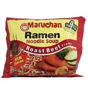 MARUCHAN #00258 ROAST BEEF NOODLE SOUP