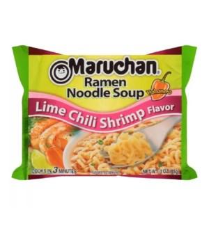 MARUCHAN #00317 LIME CHILI SHRIMP NOODLE SOUP