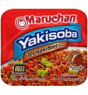 MARUCHAN #90707 TERIYAKI BEEF JAPANESE NOODLES