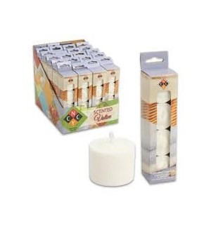 VOTIVE CANDLE-FRESH LINEN