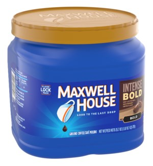 MAXWELL HOUSE COFFEE #07141 INTENSE BOLD