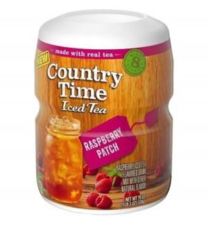 COUNTRY TIME CANISTER RASPBERRY PEACH ICE TEA