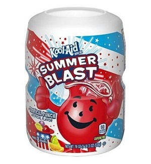 KOOL AID CANISTER-TROPICAL PUNCH