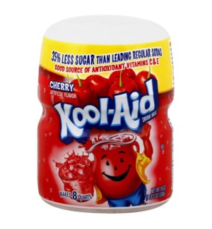 KOOL AID CANISTER- CHERRY