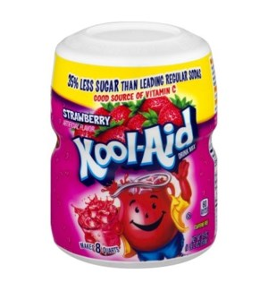 KOOL AID CANISTER- STRWBERRY