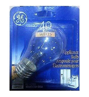 GE #GEFAN1PK APPLIANCES BULBS, ASST