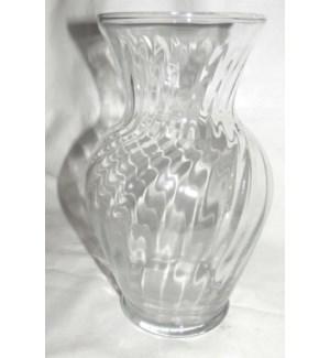 GLASS VASE #00837 ILLUS