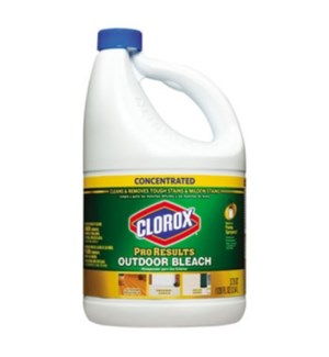 CLOROX LIQUID #30791 OUTDOOR BLEACH