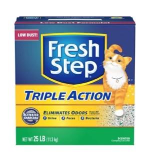 FRESH STEP #31024 TRIPLE ACTION CAT LITTER