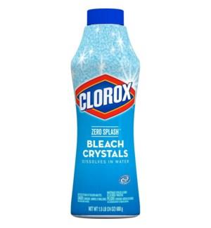 CLOROX CRYSTALS #31454 BLEACH ZERO SPLASH