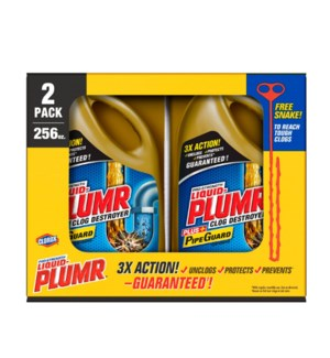 PLUMER #31357 GLOG DESTROYER (CLOROX)