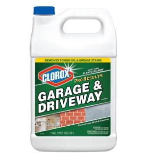 CLOROX LIQUID #31608 GARAGE & DRIVEWAY CLEANER