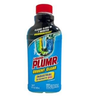 PLUMER LIQUID DRAIN OPENER #31678 URGENT CLEAR