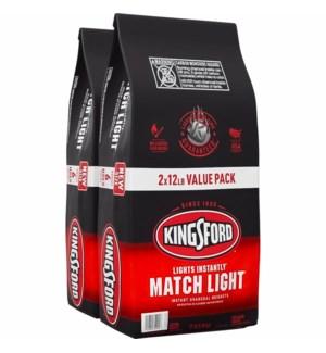 KINGSFORD #32094 MATCH LIGHT CHARCOAL