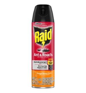 RAID ANT ROACH #77533 ORANGE BREEZE SCENT