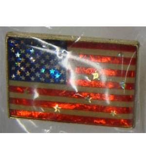 PATRIOTIC #2552 AMERICAN FLAG PINS