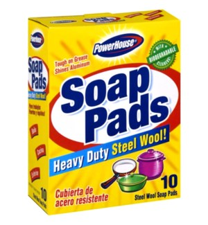 PH #90562 STEEL WOOL SOAP PADS