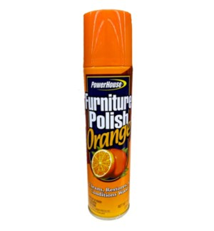 PH #90831 FURNITURE POLISH/ORANGE