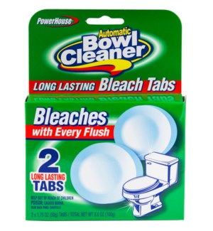 PH #92564 2CT BLEACH TABLETS BOWL CL