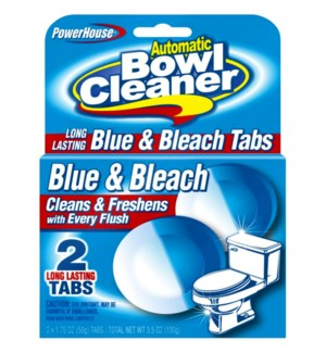PH #92600 TOILET TABLETS BLUE & BLEACH
