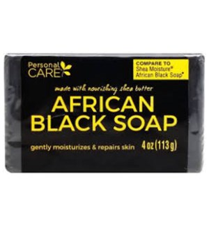 PC #95004 AFRICAN BLACK SOAP BAR