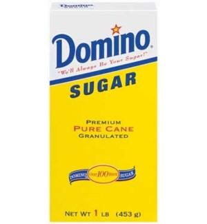 DOMINO #042101 SUGAR IN BOX 1LB