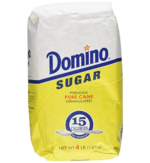 DOMINO SUGAR 4LB IN BAG