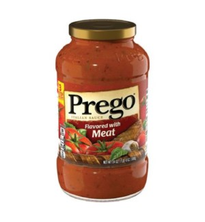 PREGO SAUCE #02794 FLAVORED W/MEAT