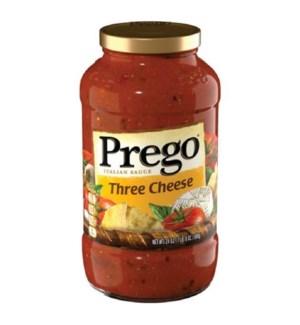 PREGO SAUCE #05043 THREE CHEESE