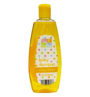 BEING WELL #34946 BABY SHAMPOO