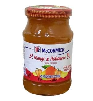MCCORMICK #199 MANGO & HOBANERO PRESERVE
