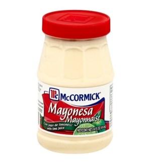 MCCORMICK #22444 MAYO W.LIME