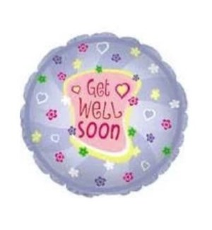 BALLOON #115035-2 GET WELL SOON