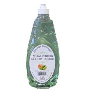 DISH SOAP #22001 LIME,BASIL&MANDARIN