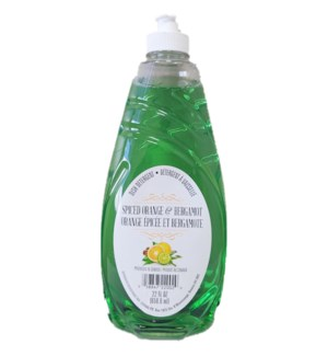 DISH SOAP #22002 SPICED ORANGE&BERGAMOT