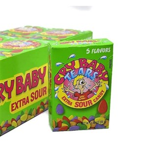 CRY BABY #642 TEARS EXTRA SOUR CANDY 5 FLAVORS