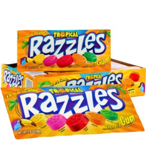 RAZZLES CANDY #829 TROPICAL