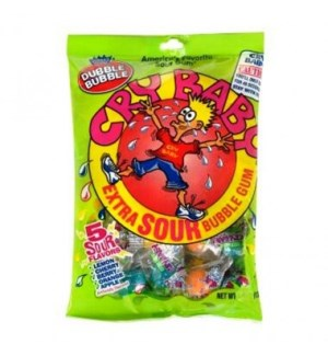 CRY BABY #13192 EXTRA SOUR BUBBLE GUM