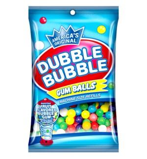 DUBBLE BUBBLE #13345 GUM BALLS IN A BAG