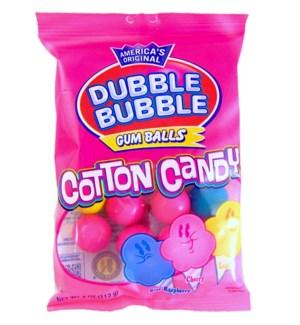 DUBBLE BUBBLE #13442 COTTON CANDY IN A BAG