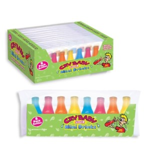 CRY BABY #74075 FRUIT FLAVORED BOTTLES SOUR