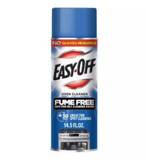 EASY OFF SPRAY #87977 OVEN CLEANER FUME FREE