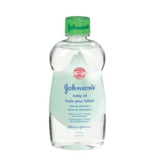 JOHNSON'S BABY OIL #6049 W/ALOE
