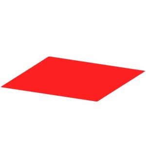 POSTER BOARD - RED                 Z 5016