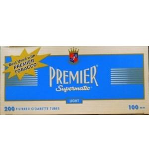 PREMIER CIG TUBES 100/LIGHT #2321