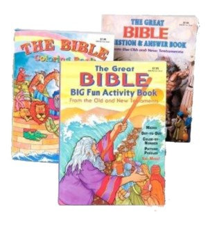 COLORING BOOK #25711 BIBLE STORIES
