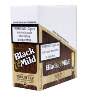 BLACK & MILD #50525 WOOD TIP