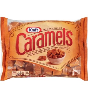 KRAFT CARAMELS MILK MADE CANDY