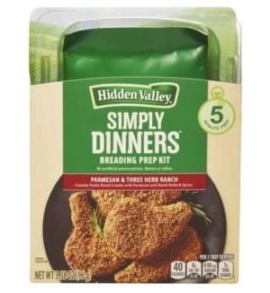 HIDDEN VALLEY BREADING KIT, SIMPLY DINNERS